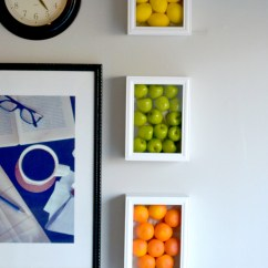 Art For The Kitchen Appliances Reviews Colorful Wall With Fake Fruits