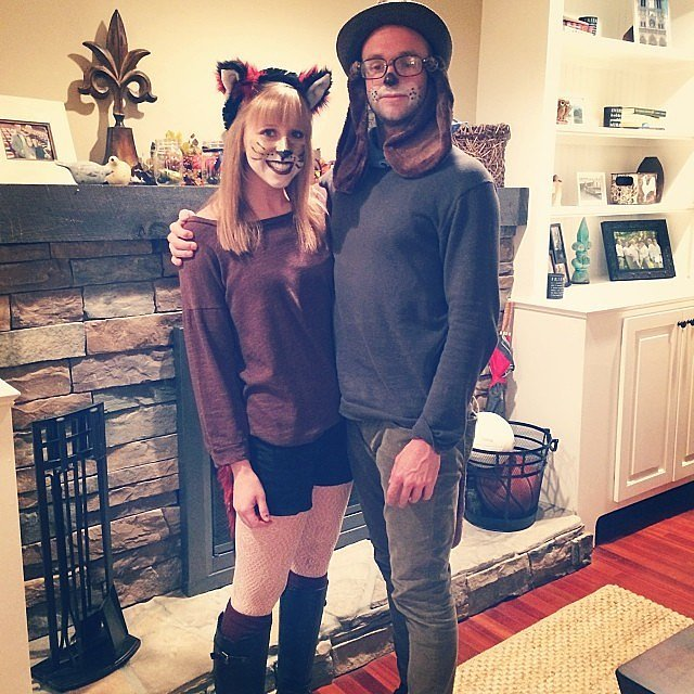 fox hound diy costume 50 of the most creative couples costumes for all events
