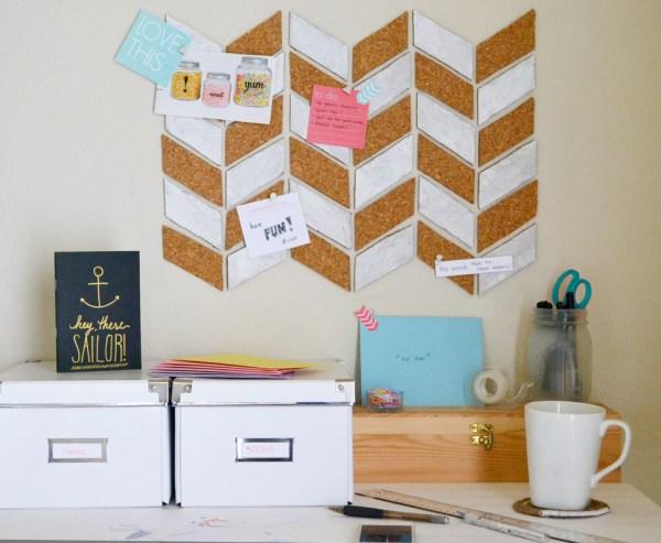 DIY Bulletin Board Ideas Office