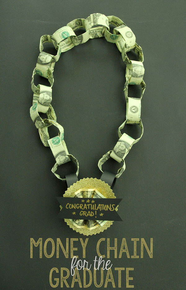 How To Make A Money Necklace : money, necklace, You'll, These, Clever, Graduation