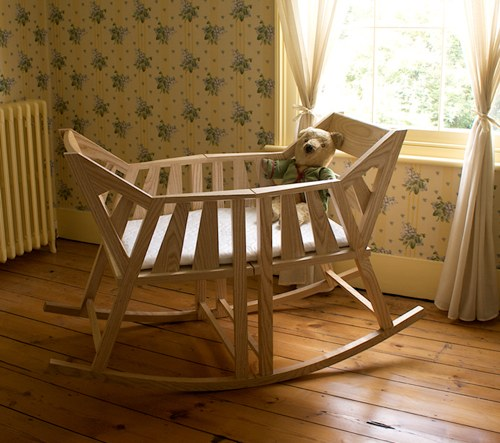 rocking chair and cradle in one fast table gorgeous diy baby cradles for handy parents made from two chairs