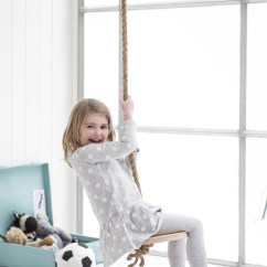 Modern Wood Chair Personalized Chairs For Kids 17 Diy Indoors Swings Everyone In The Family To Enjoy