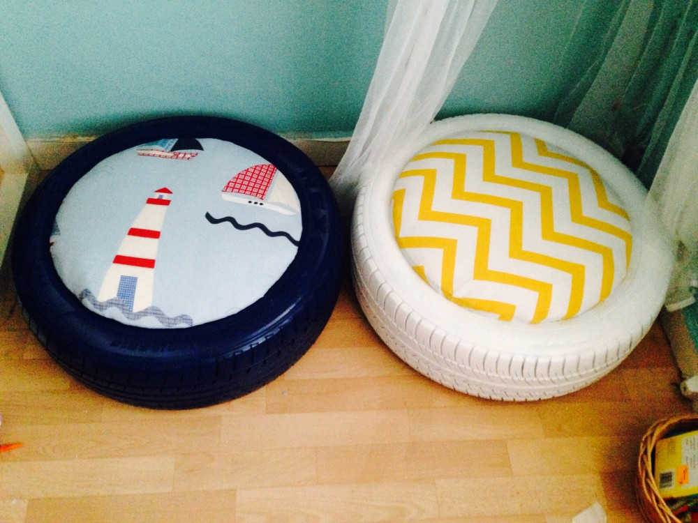 comfy outdoor chair childrens wooden personalised creative ways to reuse old tires