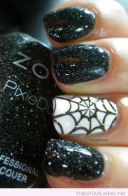 halloween nail manicures
