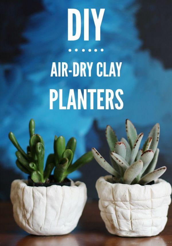 outdoor clay diys