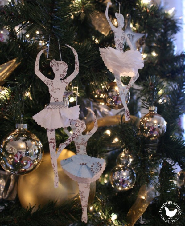 DIY Paper Ornaments Christmas Decorations