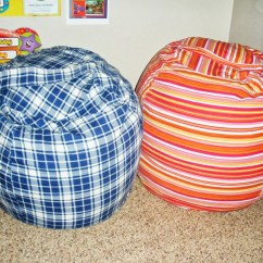 How To Sew Bean Bag Chair Best The Chairs These 18 Diy Will Take Family S Lounging Rollie Pollie