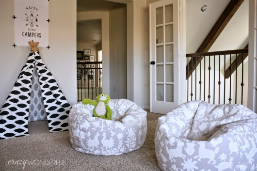 hanging bean bag chair shabby chic cushions these 18 diy chairs will take the family's lounging to next level