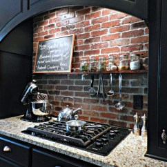 Brick Backsplash In Kitchen Apron Sinks 5 Gorgeous Diy Tutorials