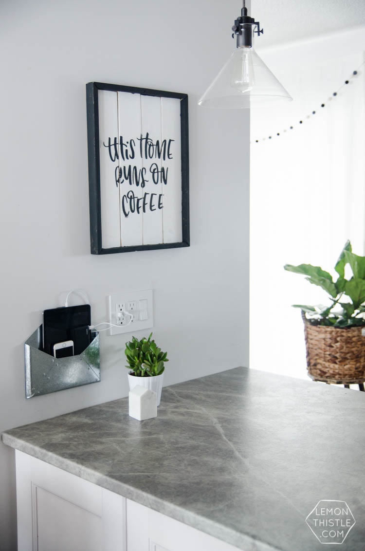 kitchen cabinet paint ideas rugs ikea 19 diy charging stations to power up your life