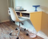 These 18 DIY Wall Mounted Desks Are The Perfect Space ...