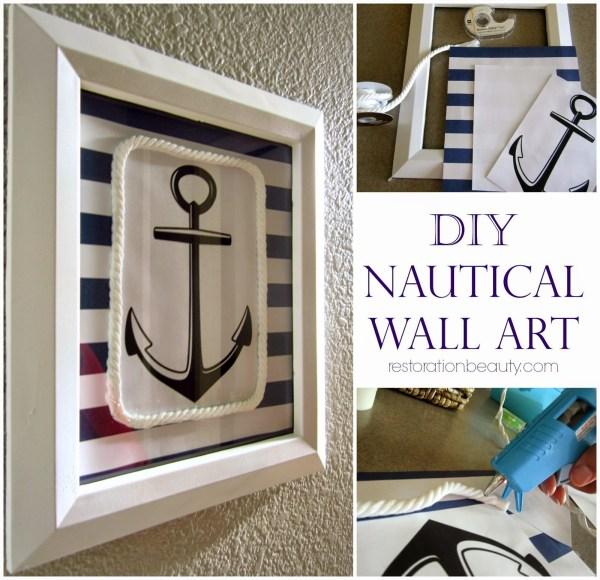 Nautical Wall Art DIY