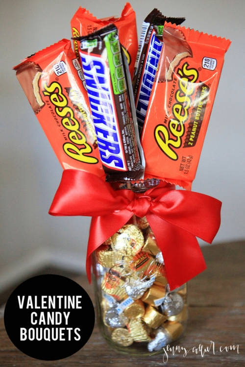 Christmas Candy Bouquets Diy