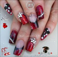 Pointy Nail Designs With 3d Bows | www.pixshark.com ...