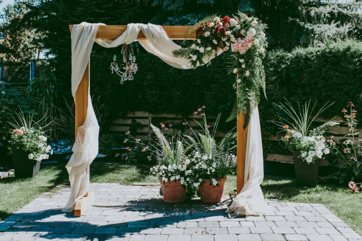 Photos diy wedding arbour for arbor plans mobile high resolution arches to highlight your ceremony with