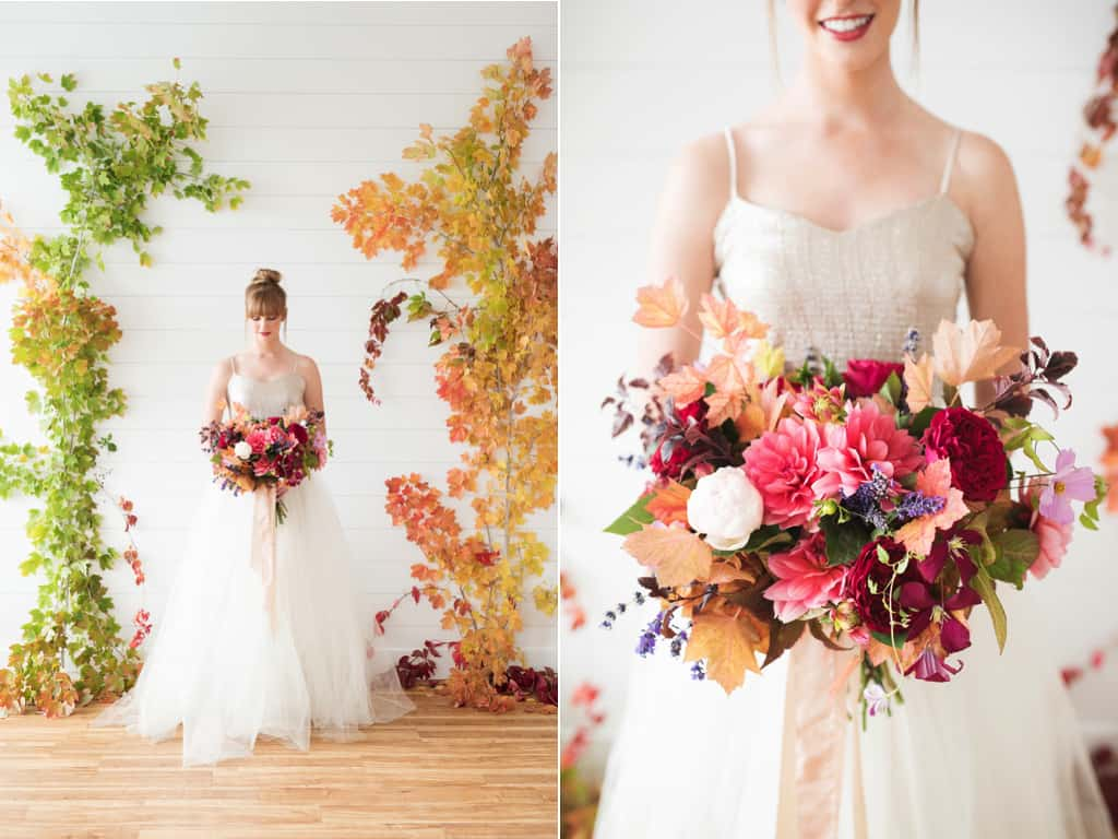 15 Fall Wedding Flowers We Love