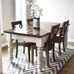 Diy Kitchen Tables Decoration For Any Of These 15 Small Dining Room Your Home Farmhouse Shabby Chic Roomt Able