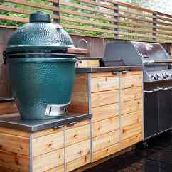 Modular Outdoor Kitchen Compact Appliances 15 Designs That You Can Help Diy Cedar Cabinets