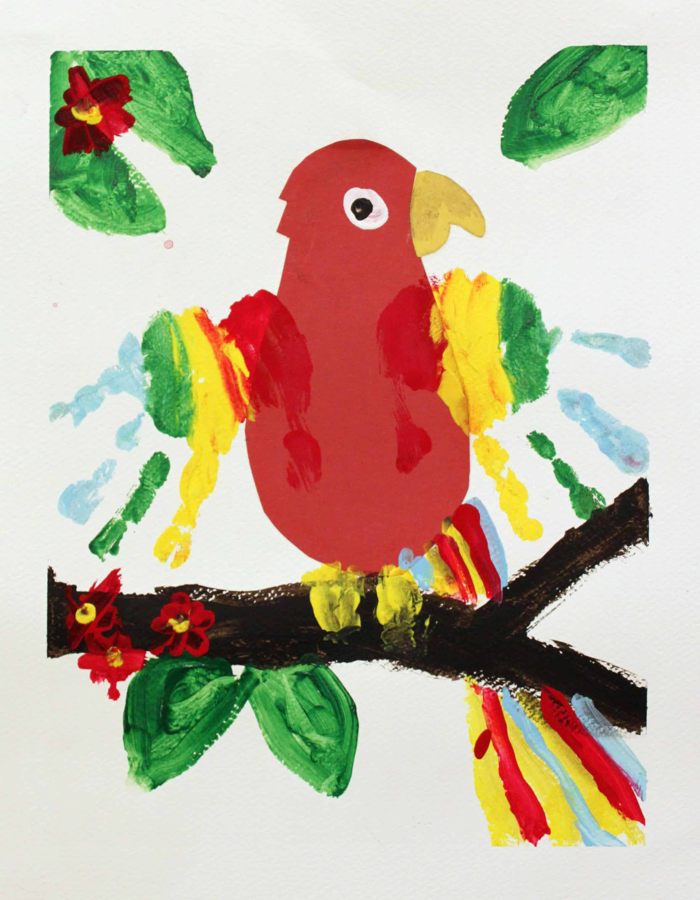 Awesome Parrot Themed Crafts Obsigen