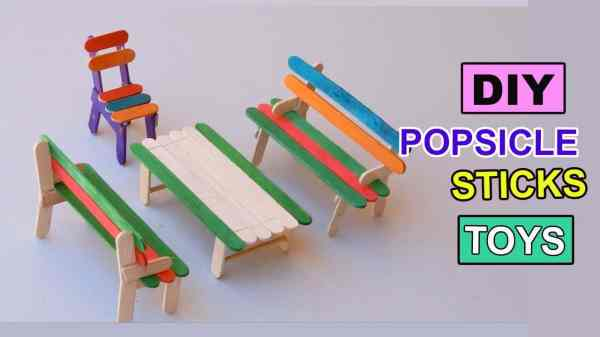 15 Popsicle Stick Projects The Kids Will Love