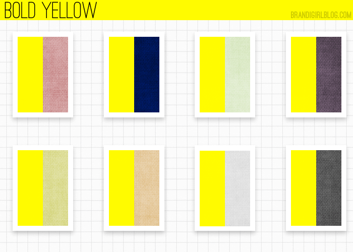 Beautiful Colours That Go Well With Yellow In Any Scenario