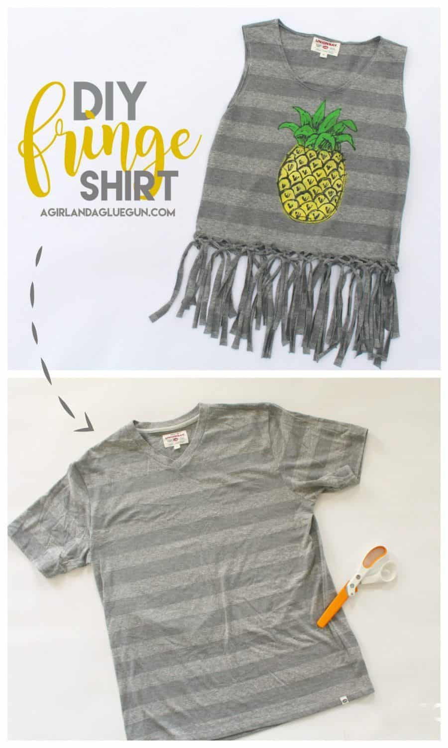 How To Turn A Tshirt Into A Tube Top : tshirt, Fantastic, Alter, T-Shirts, Ready, Summer