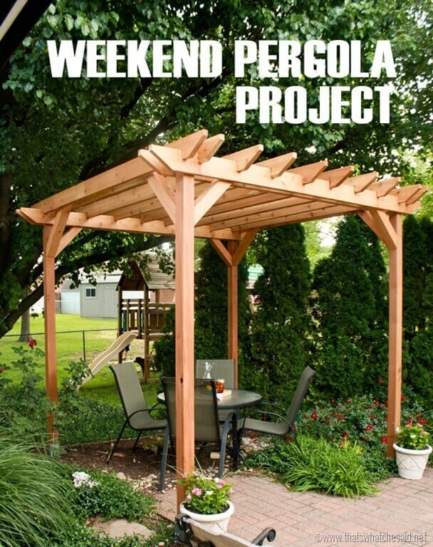 awesome diy patio projects for warm weather
