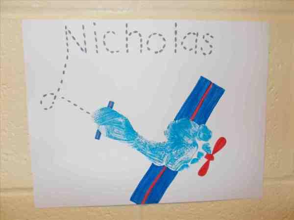 Preschool Airplane Craft for Kids