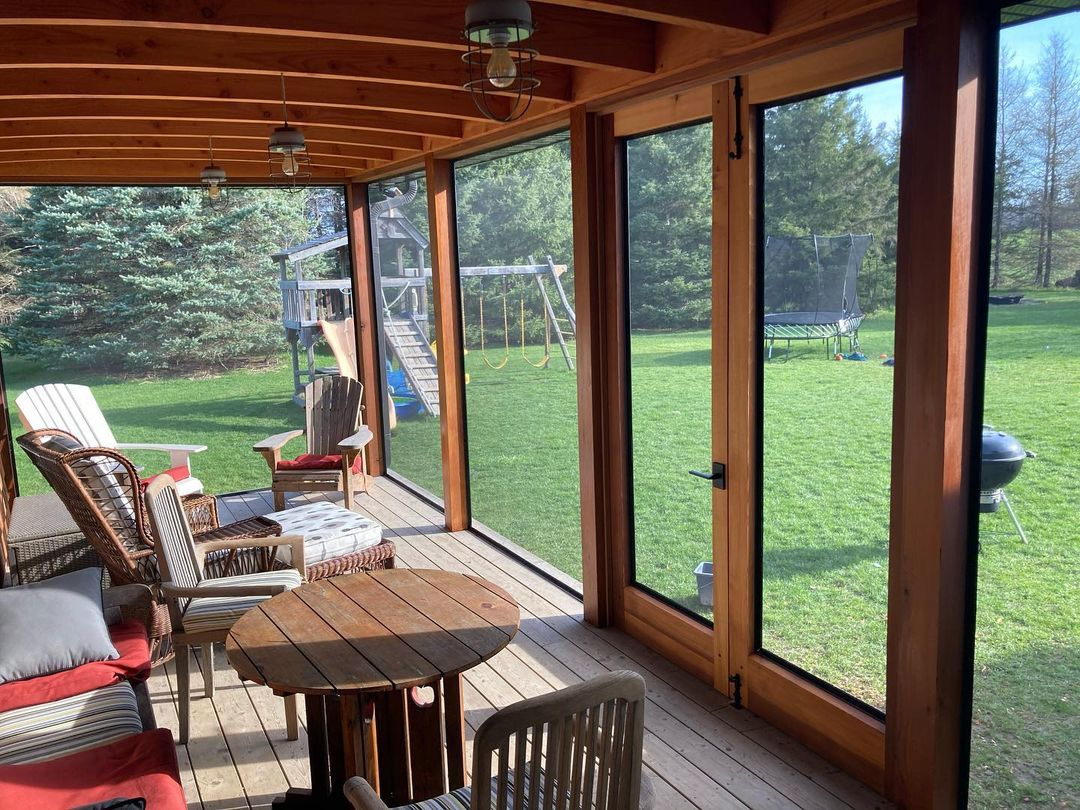 35 screened in porch ideas that will