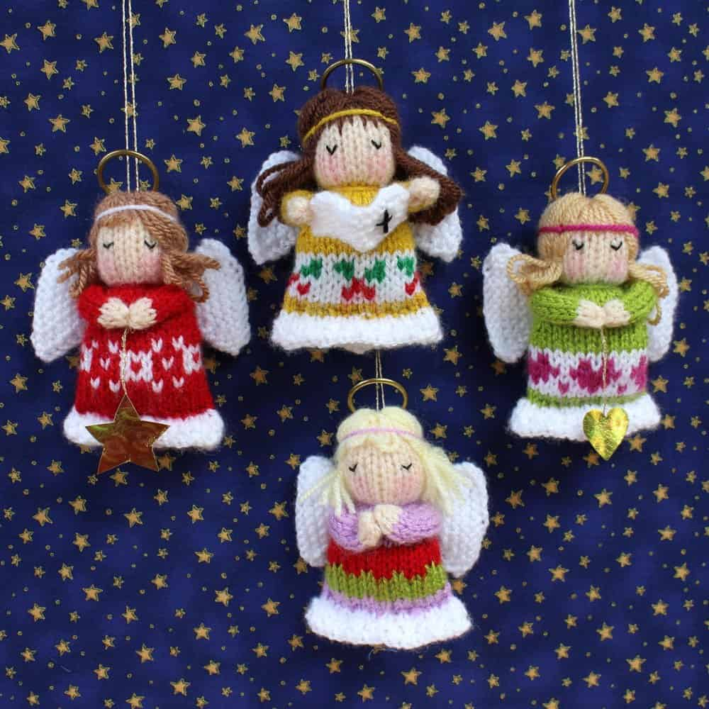 Adorable Christmas Themed Knitting Patterns