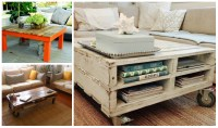 5 Diy Wooden Pallet Coffee Tables - diy Thought