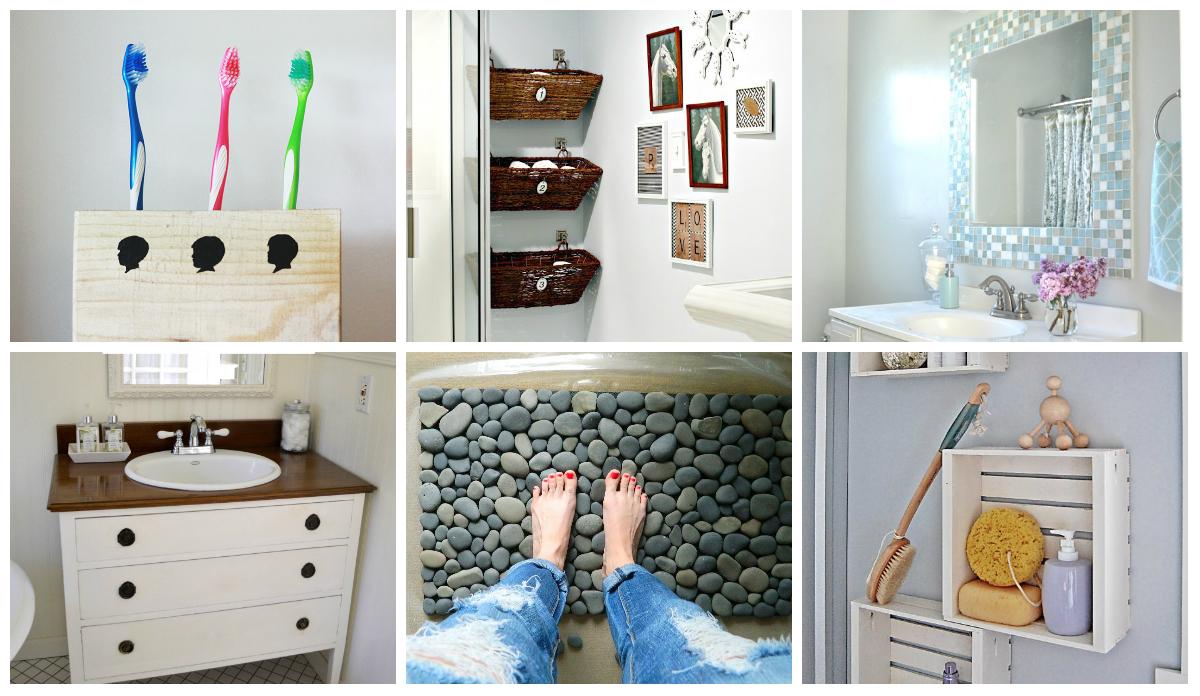 9 Diy Bathroom Ideas  diy Thought