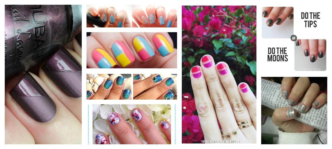 8 Easy Beginner Nail Art Tutorials