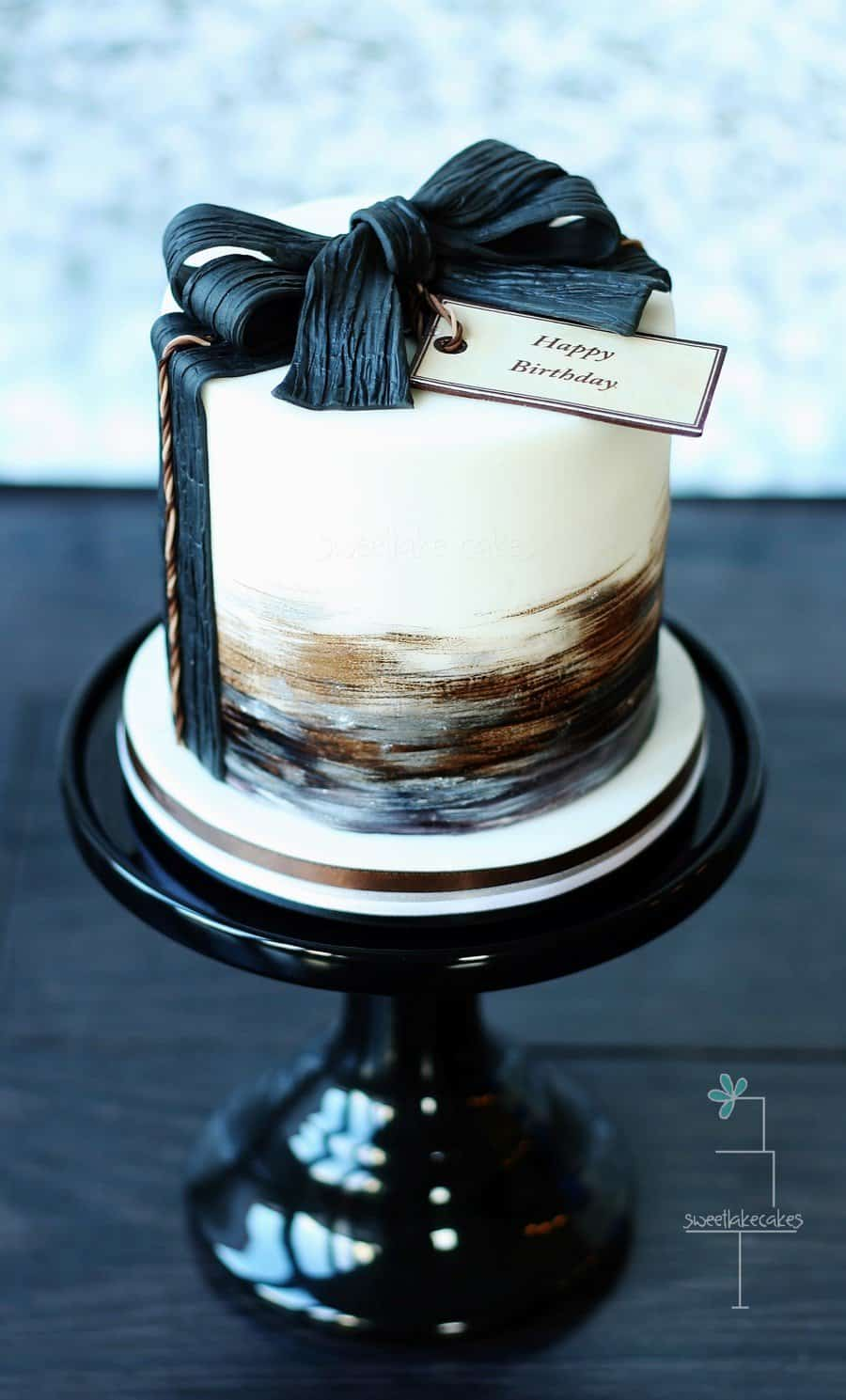 8 Diy Masculine Birthday Cakes Diy Thought