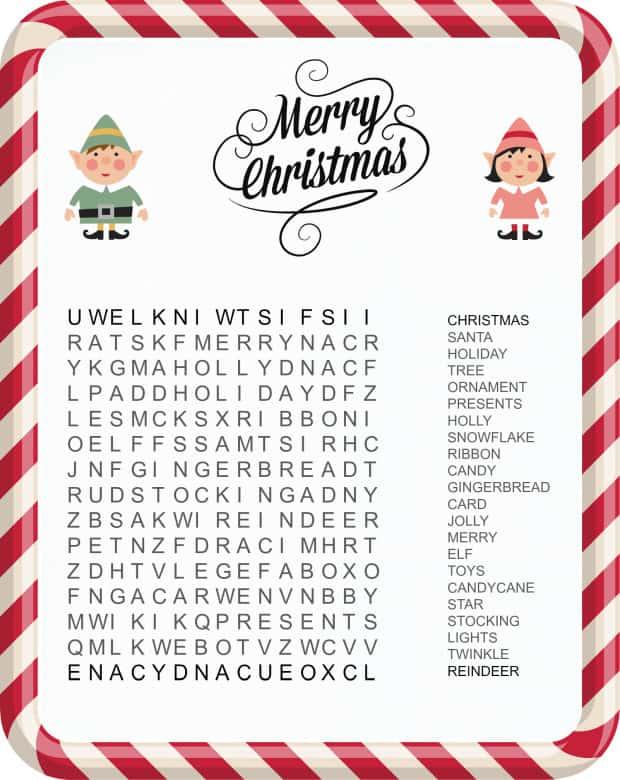 10 Free Kids Christmas Printables Diy Thought