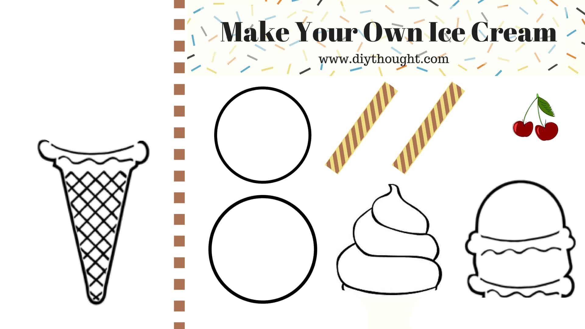5 Cool Ice Cream Printables