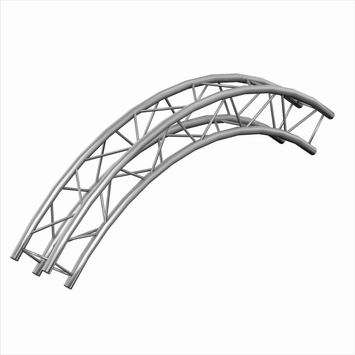 Trusst Ct290 420cir 90 90 Degree Arch Truss 2m