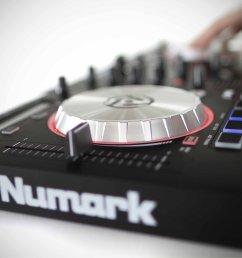 numark mixtrack pro 3 serato dj intro controller review 2  [ 3000 x 2000 Pixel ]