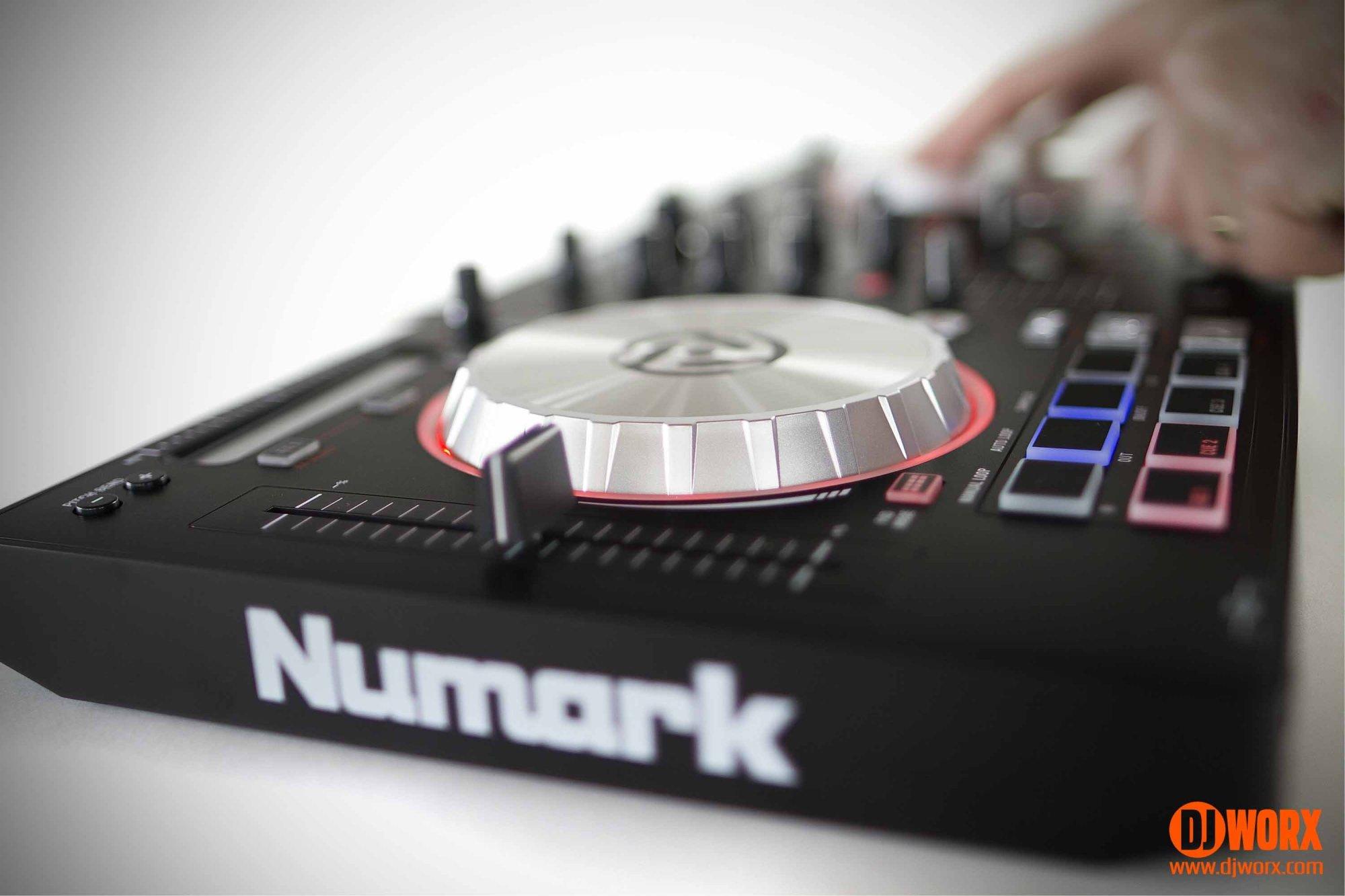 hight resolution of numark mixtrack pro 3 serato dj intro controller review 2