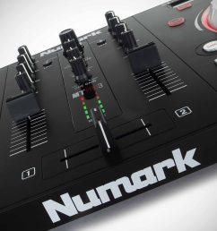 numark mixtrack pro 3 serato dj intro controller review 6  [ 3000 x 1998 Pixel ]