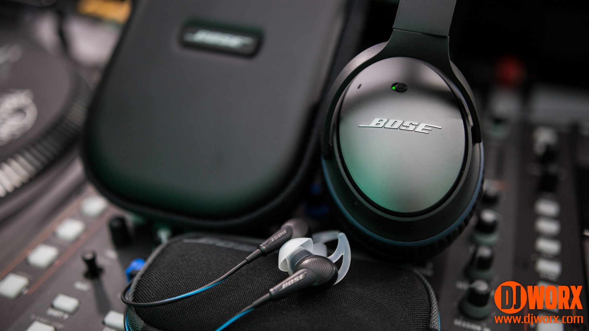 review bose qc20 and