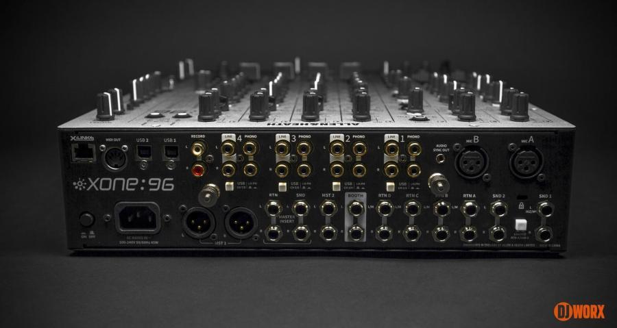 Allen & Heath Xone:96 mixer review first look preview (2)