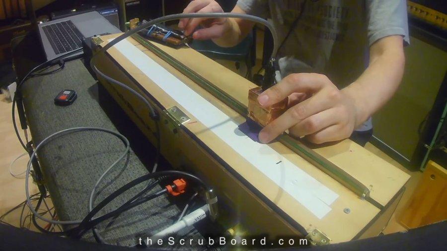 scrubboard cassette tape scratcher looper singers brass monkey beastie boys (2)