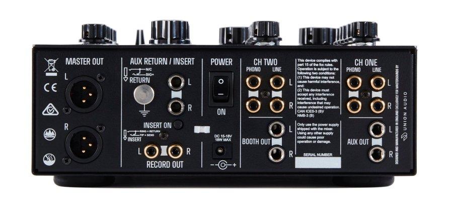 MasterSounds Radius two Valve rotary DJ mixer Union Audio Andy Rigby Jones (4)