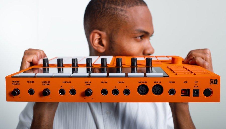 Native Instruments Machine MK3 emkay 3 10th birthday anniversary orange (11)