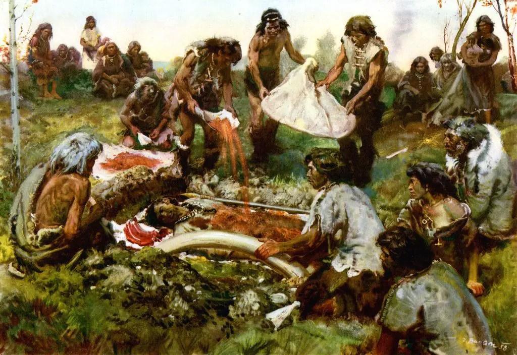عملية دفن الموتى