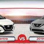 2020 Nissan Sentra Vs 2019 Nissan Sentra