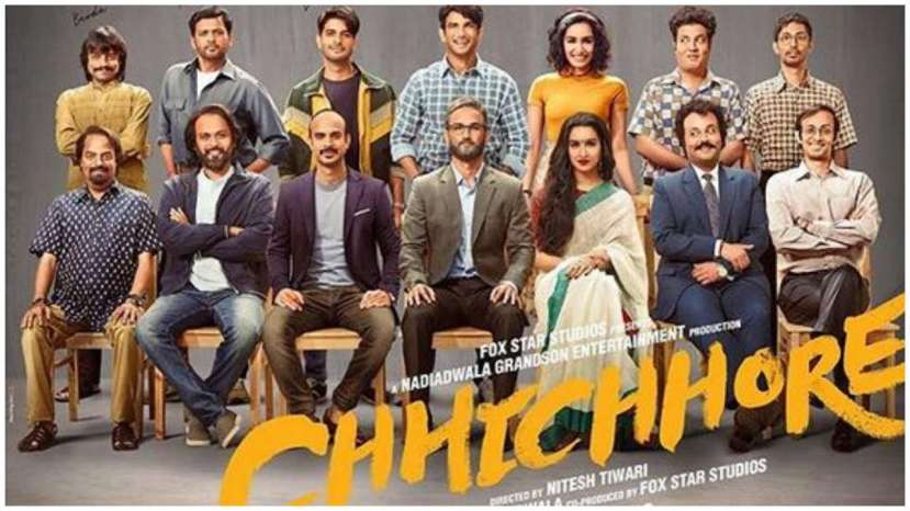 Chhichhore' poster out: The Sushant Singh Rajput- Sharddha Kapoor starrer  looks like a 'Timeless Tale of Time Pass'