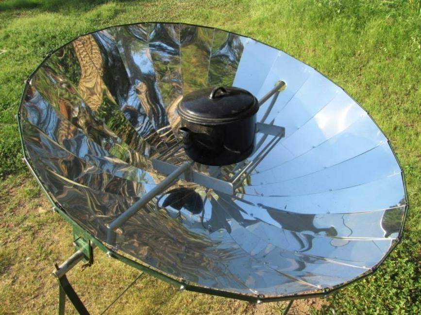 Cmo hacer una cocina solar casera