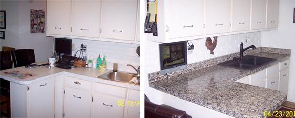 resurface kitchen countertops home depot storage cabinets giani granite paint kit for rv + how to